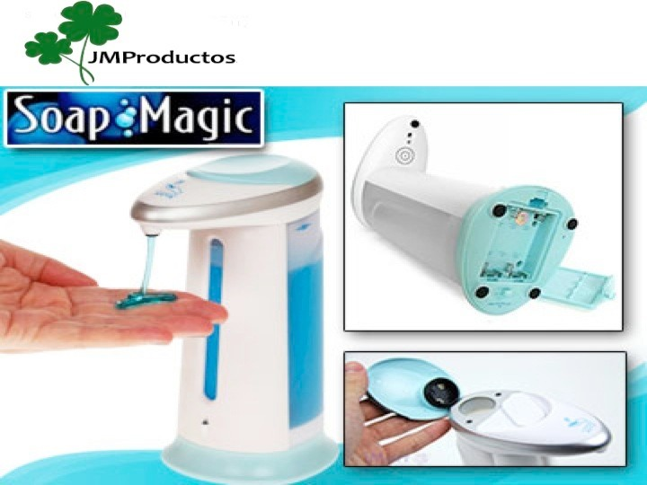 Dispensador de jabon con sensor automatico soap magic - Dispensador de jabon automatico ...