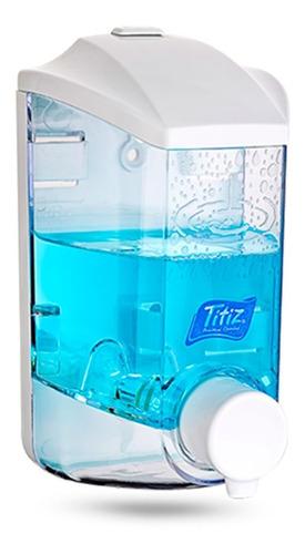 dispensador de jabón líquido 400 ml titiz damla