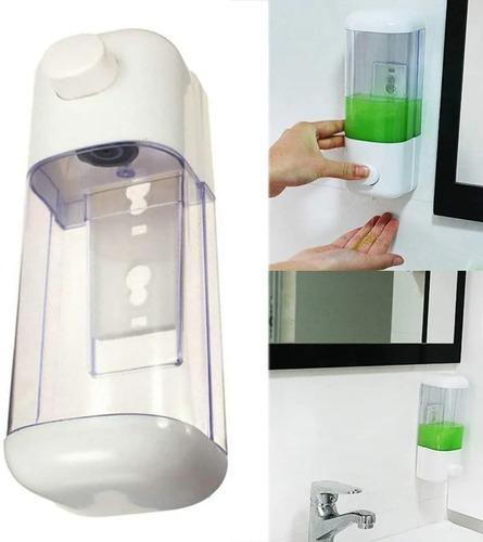 dispensador de jabón liquido alcohol gel 350 ml / lhua store