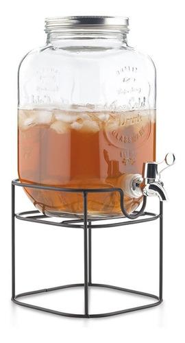 dispensador de líquidos en vidrio