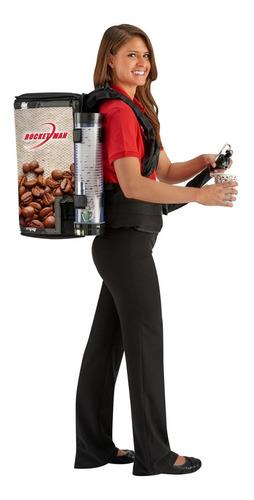 dispensador de mochila cafe,cerveza,liquidos