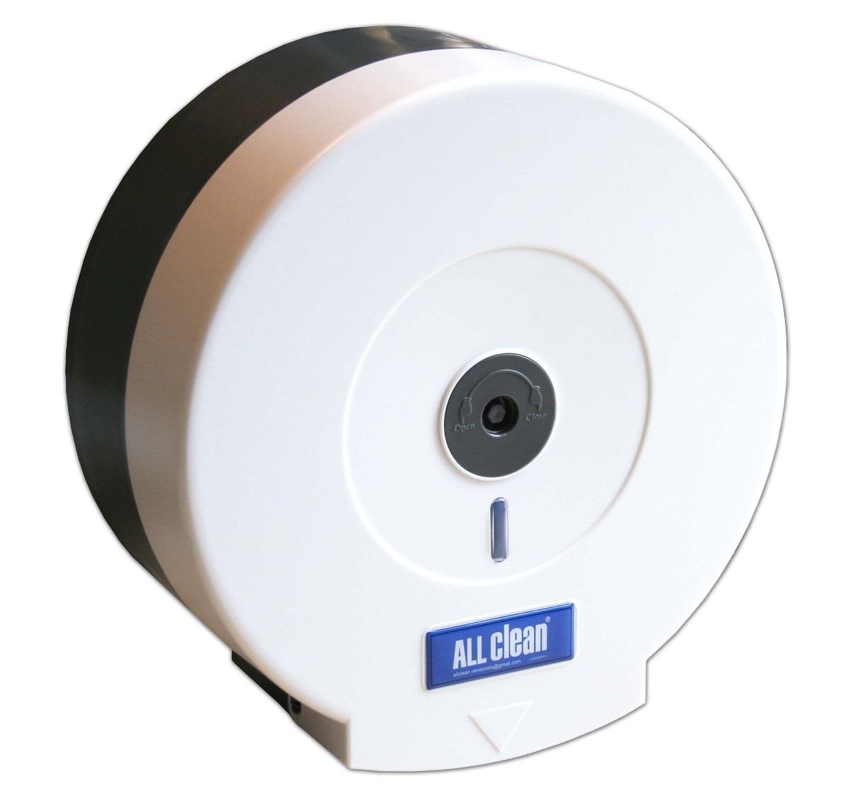 Dispensador de papel higi nico 9 pulgadas color blanco for Dispensador de papel higienico