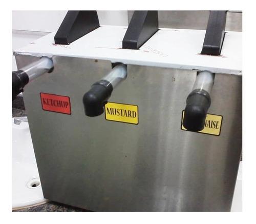 dispensador de salsas marca server