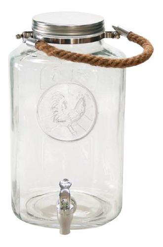 dispensador de vidrio 6.5ltrs. gallo.