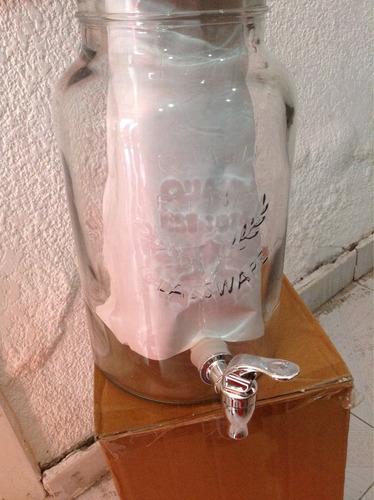 dispensador de vidrio de bebidas masón mars 5.67 litros