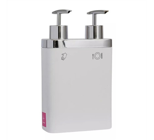 dispensador doble de jabon liquido para cocina hts