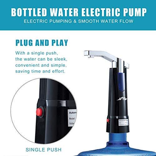 dispensador electrico recargable para botellon de agua