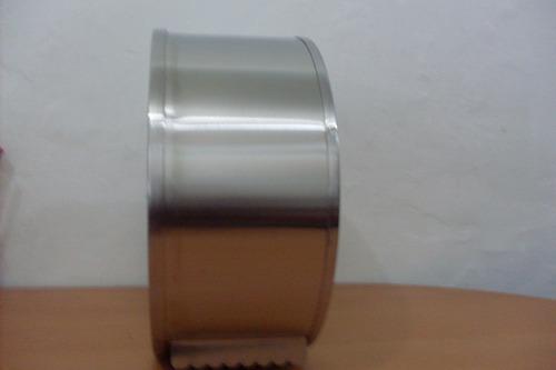 dispensador en acero papel 9 pulgadas