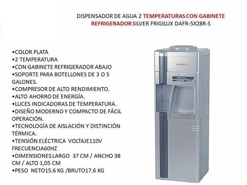 dispensador enfriador de agua frigilux.