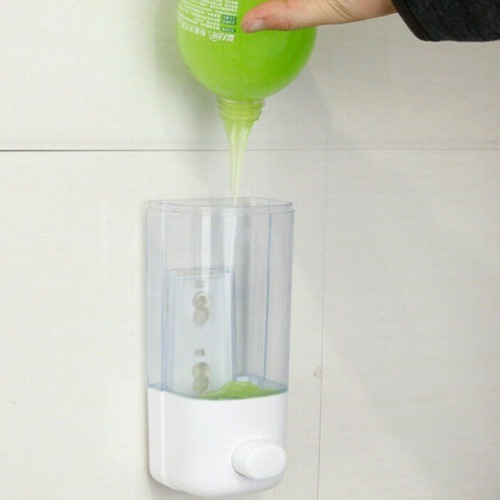dispensador gel desinfectante manos jabón líquido 380ml