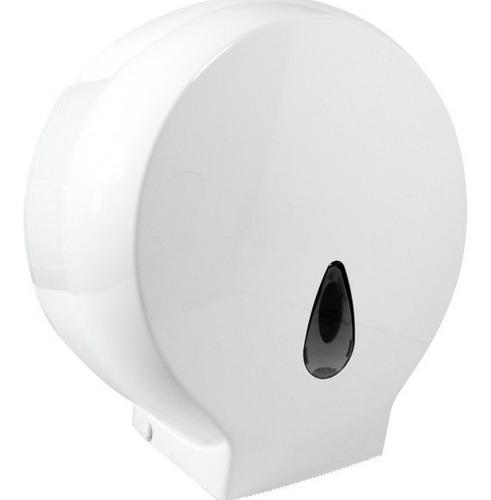 dispensador institucional + papel higiénico de 250mtr