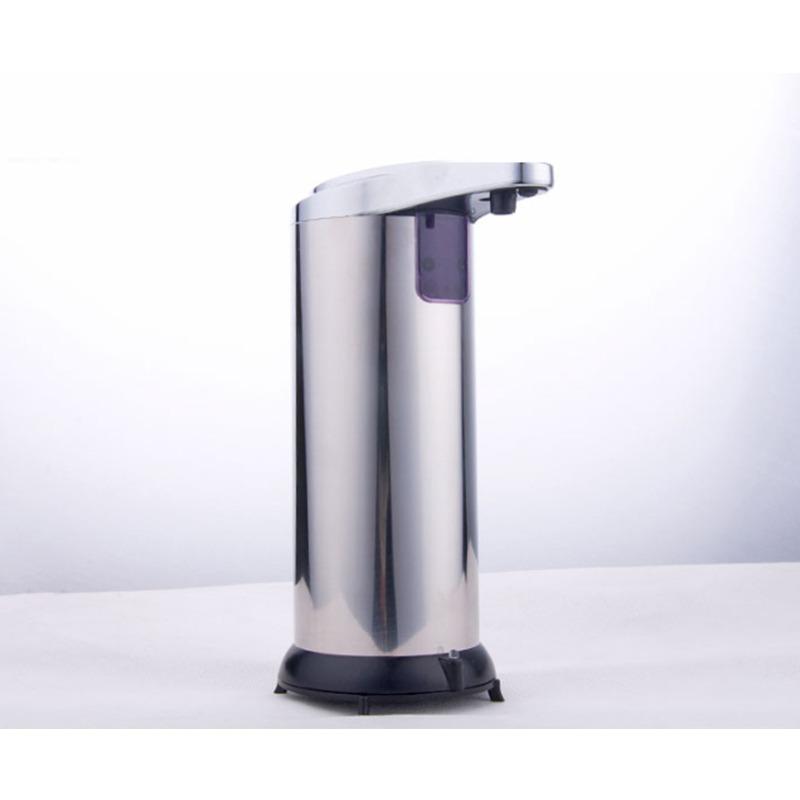 Acero inoxidable 304,Dispensador de jab/ón autom/ático sensor,Montaje en pared,Ducha de dispensadores,Inicio Hotel Caja del ampoo de Box de ducha gel-A Modelos de bater/ía