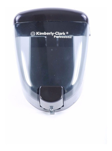 dispensador jabón gel antibacterial kimberly-clark negra