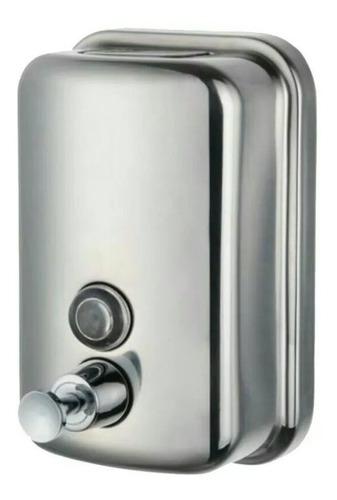 dispensador jabón liquido, metálico,500 ml institucional