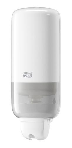 dispensador jabón líquido y gel tork + carga gratis