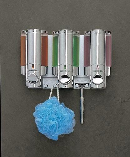 Dispensador de jabon liquido para ba o despachador triple for Dispensadores para banos