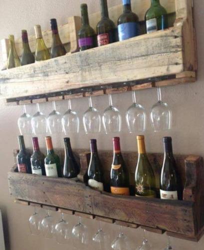 dispensador para botellas y copas