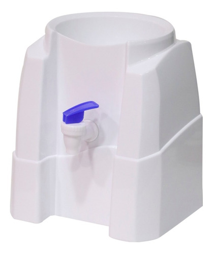 dispensador sifon de mesa blanco para agua botellon 20lts