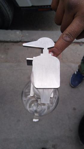 dispensadores de pedal acero inox