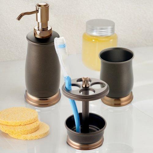 dispensadores,mdesign metal conjunto de accesorios de ba..