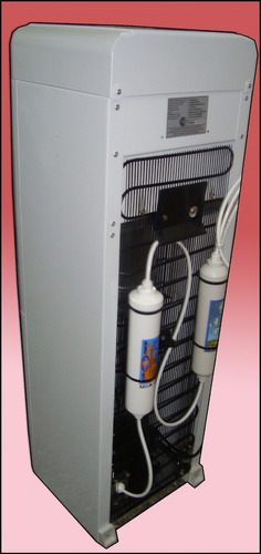 dispenser agua fria caliente con heladera para conectar red