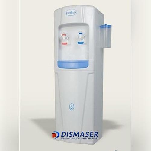 dispenser agua frio calor conexion a red con instalación