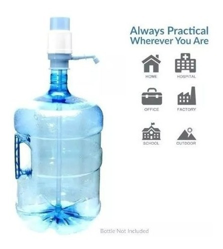 dispenser agua portatil bomba manual bidones comerciales.