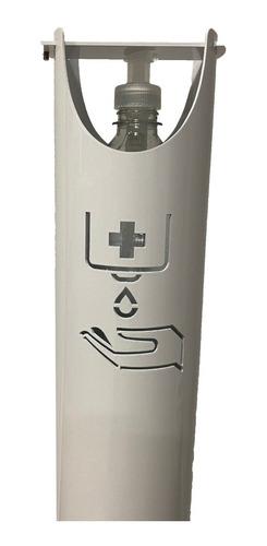 dispenser alcohol pedal pie sin contacto premium