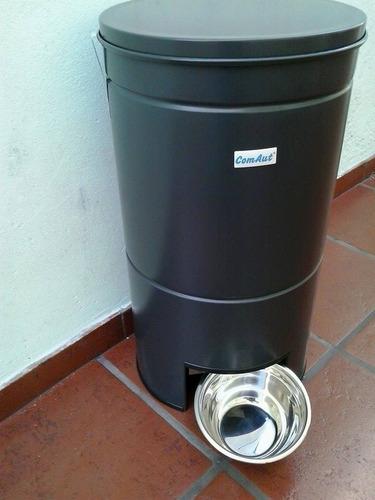 dispenser automatico programable de alimento para perros