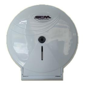 Dispenser Blanco Higienico 300m Scm Con Llave