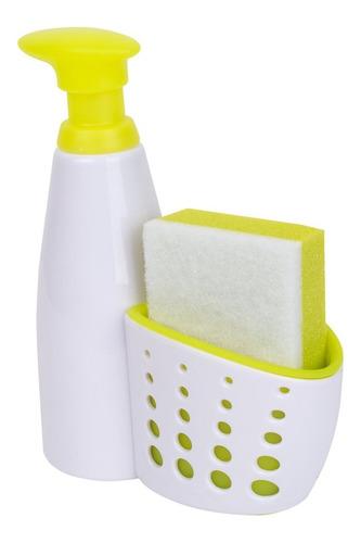 dispenser con porta esponjas marca casabella
