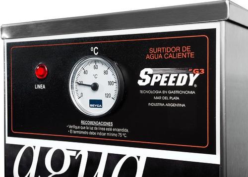 dispenser de agua caliente contínuo  speedy - tecnobazar
