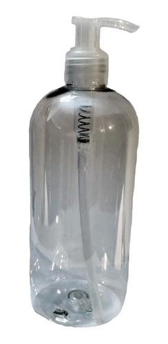 dispenser de alcohol en gel 500cc pet cristal