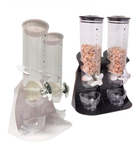 dispenser de cereales doble cerealero accesorio de cocina pc
