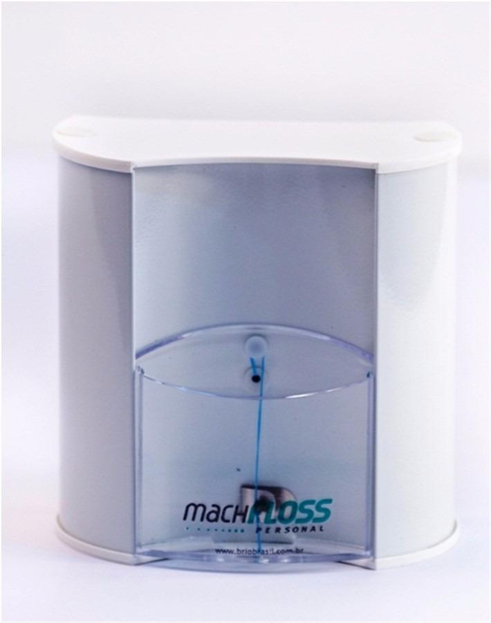 9a6d4f135 Dispenser De Fio Dental Bucal Machfloss - Suporte Fio Dental - R  75 ...