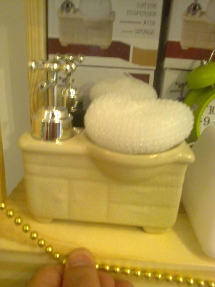 Dispenser De Jabon Mueble De Ba O Ceramica Varios Colores 199  # Muebles De Jabon