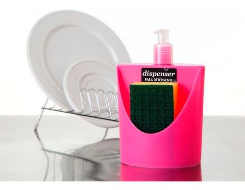 dispenser  detergente con porta esponja pettish online