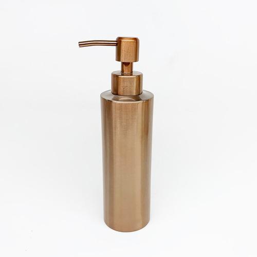 dispenser dosificador baño jabón cobre
