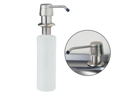 dispenser dosificador detergente jabón bronce cromado