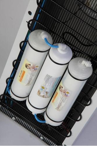 dispenser frio-calor con filtros purificadores red