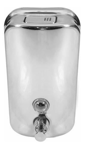 dispenser jabón liquido metálico baño diseño decoracion