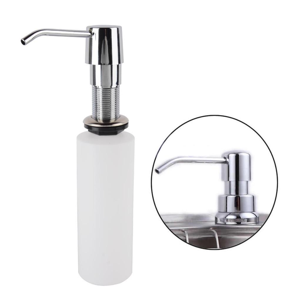 Dispenser para detergente de embutir na pia r 99 90 em for Dispensador jabon cocina encastrado