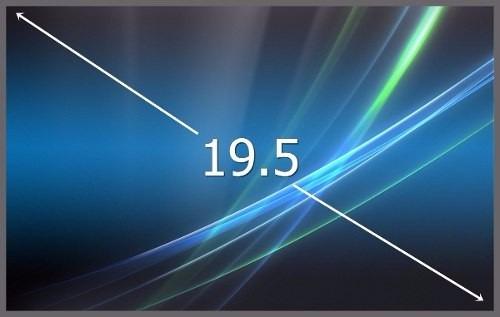 display 19.5 led para all in one m195xtn01.0 pantalla 6 pin