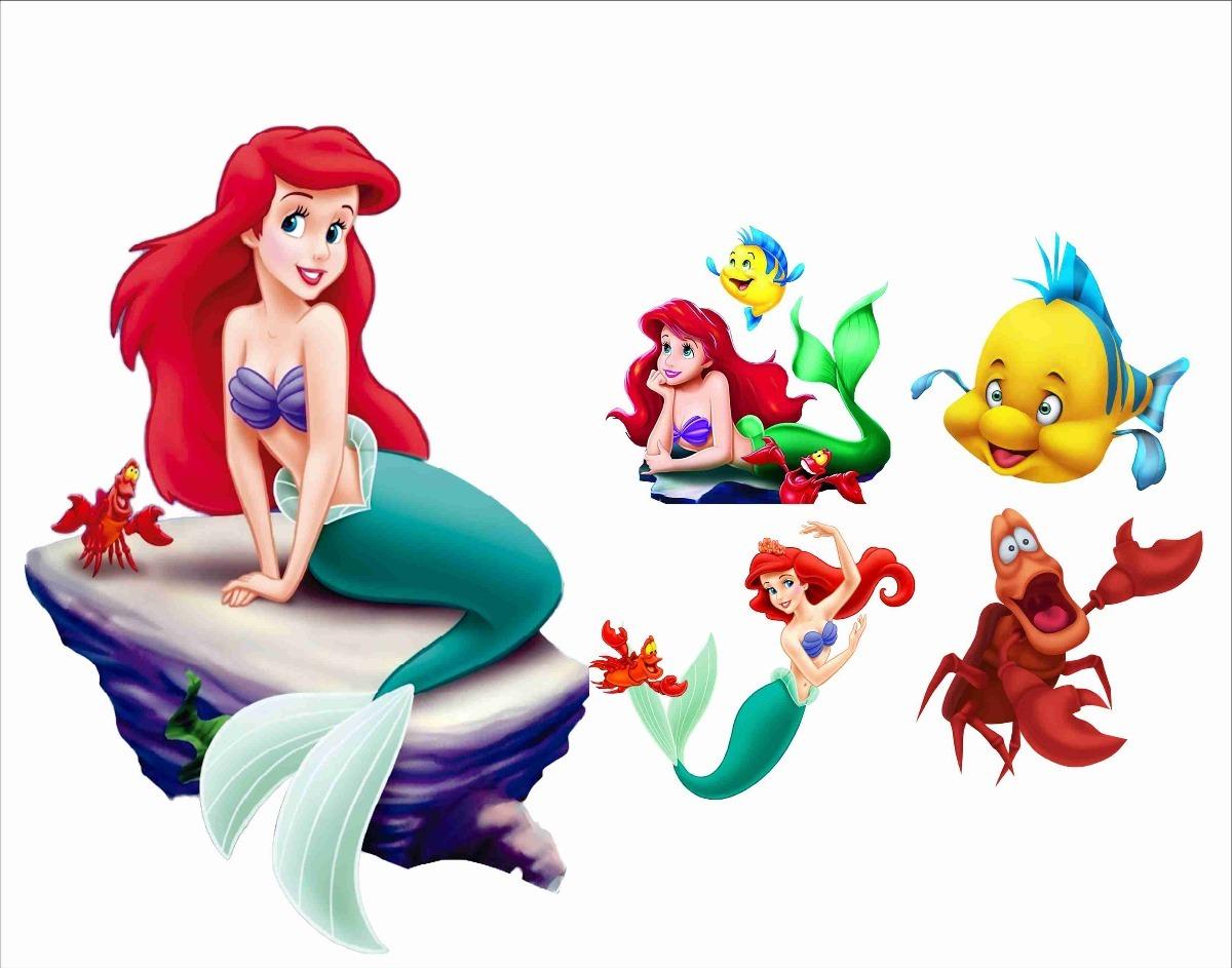 Display A Pequena Sereia Ariel 1 Peca 80cm 4 Mesa R 72 00 Em