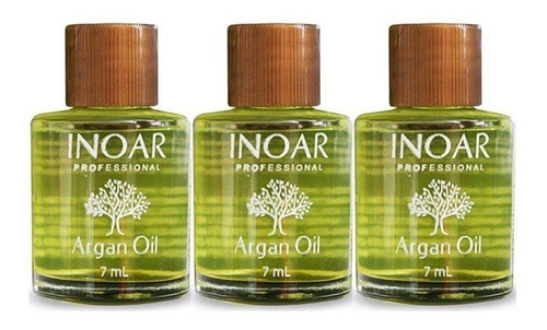 display aceite argan 7 ml - 12 unids - inoar