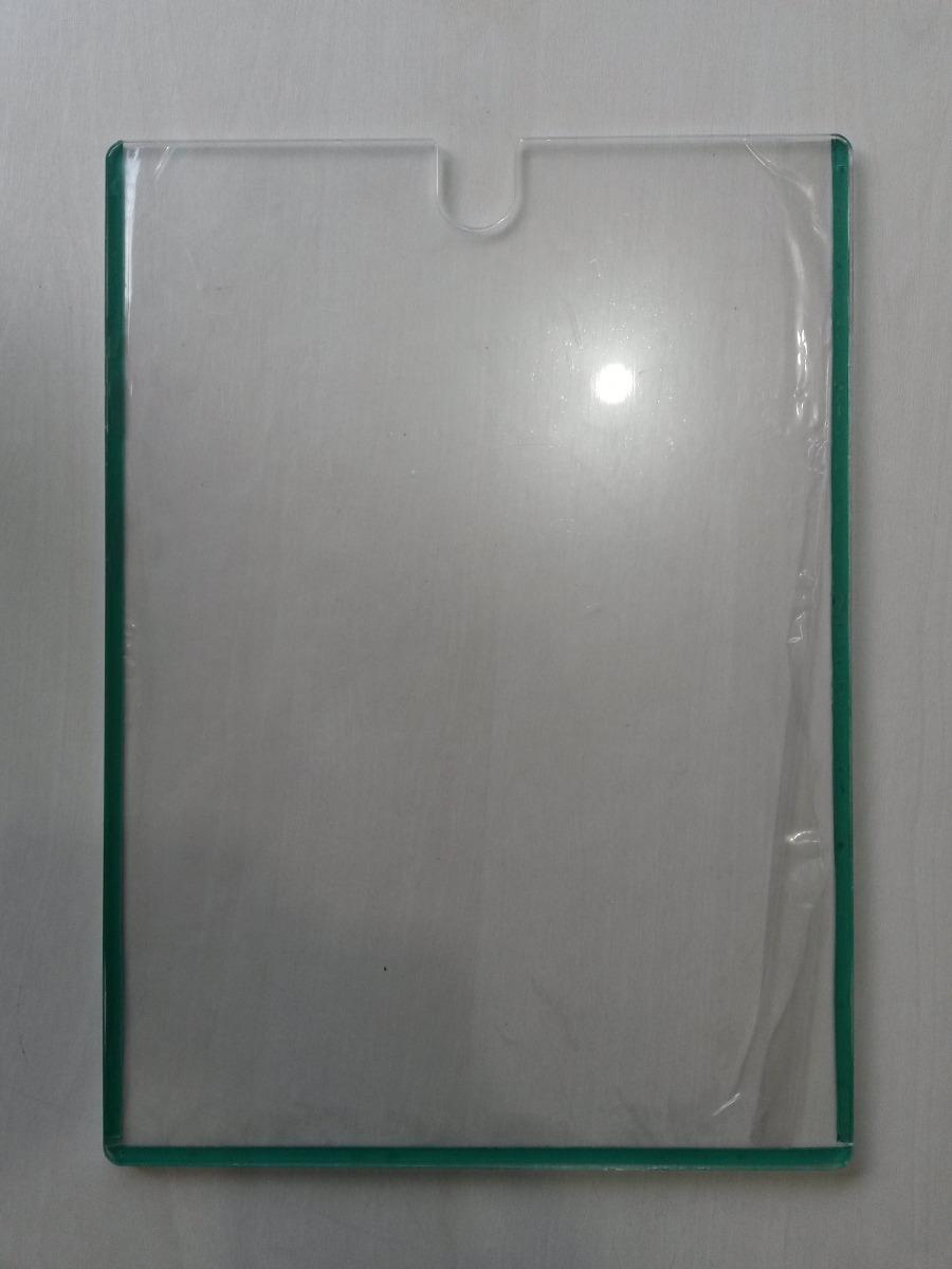 display acr lico a4 para porta parede placa de aviso
