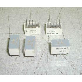 Display Com +-1 Mcd497a 70 Peças