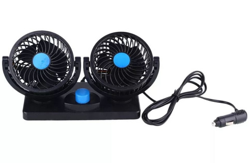 display de 2 ventiladores 4  24v plástico oregon vent014