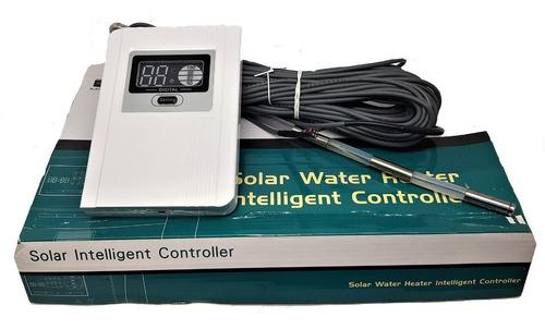 display digital con sensores p/ termotanque solar calefon