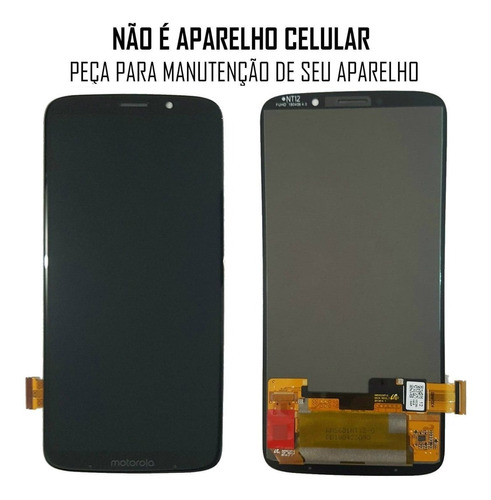 display frontal motorola moto z3 play sem aro